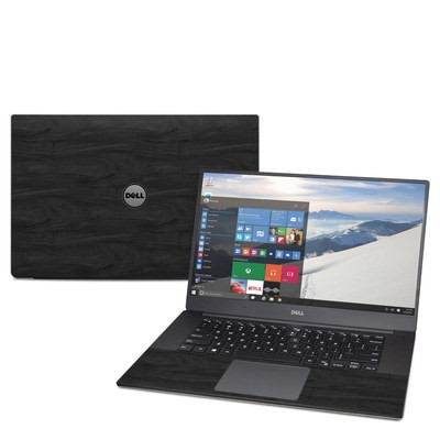 Dell XPS 15 (9560) Skin - Black Woodgrain