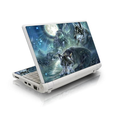 Asus Eee PC Skin - Bark At The Moon