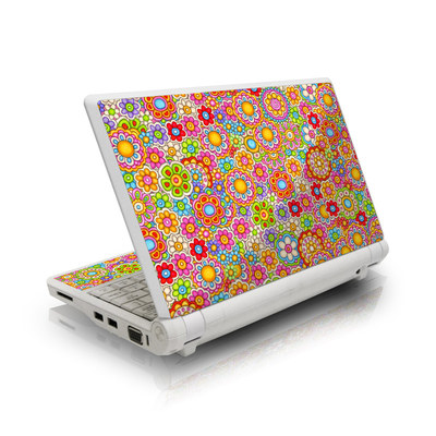 Asus Eee PC Skin - Bright Ditzy