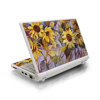 Asus Eee PC Skin - Sunflower
