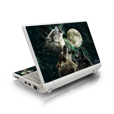 Asus Eee PC Skin - Three Wolf Moon