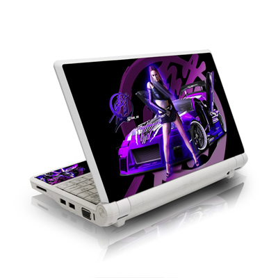 Asus Eee PC Skin - Z33 Purple