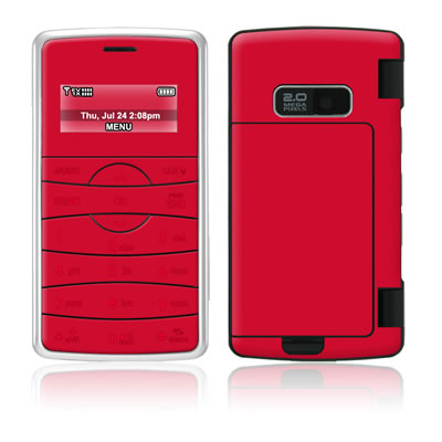 LG enV2 Skin - Solid State Red