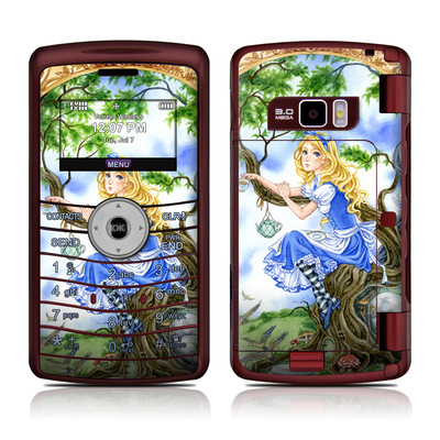 LG enV3 Skin - Alice's Tea Time