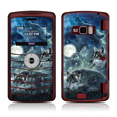 LG enV3 Skin - Bark At The Moon