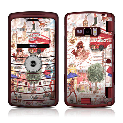LG enV3 Skin - London