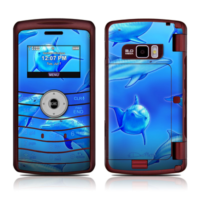 LG enV3 Skin - Swimming Dolphins