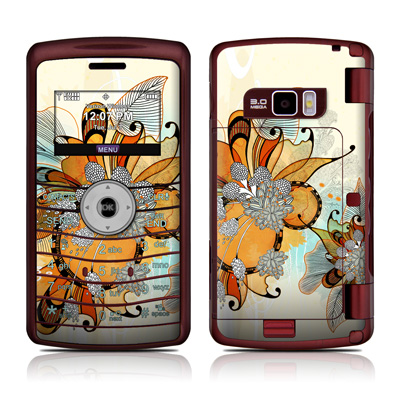 LG enV3 Skin - Sunset Flowers