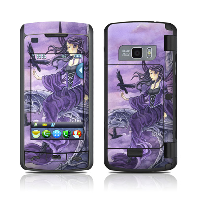 LG enV Touch Skin - Dark Wings