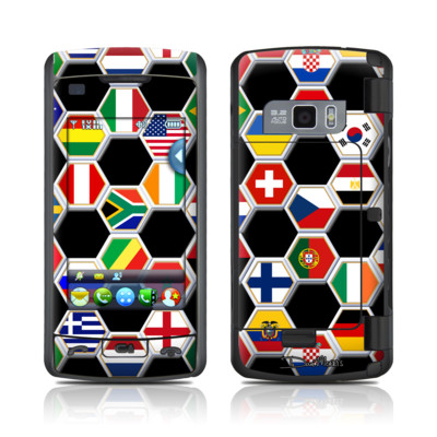 LG enV Touch Skin - Soccer Flags
