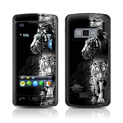 LG enV Touch Skin - White Tiger