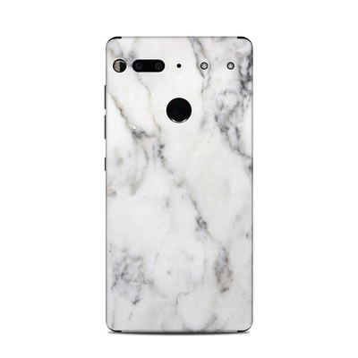 Essential Phone Skin - White Marble
