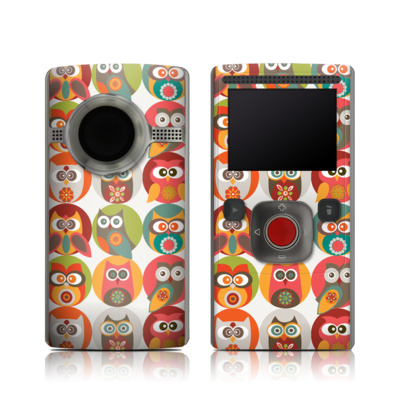Flip Ultra HD Skin - Owls Family