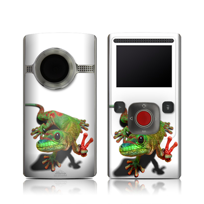 Flip Ultra HD Skin - Peace Gecko