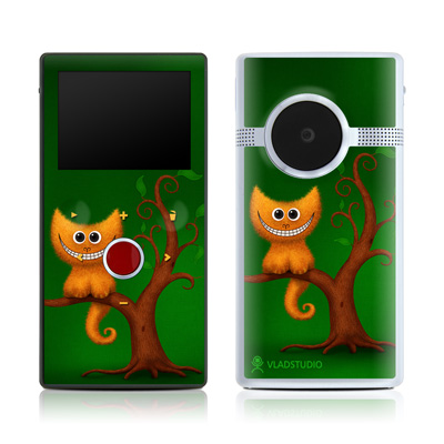 Flip Mino HD 120 Skin - Cheshire Kitten
