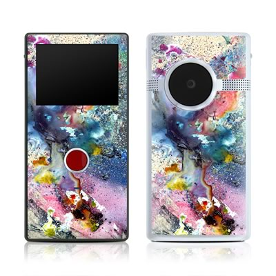 Flip Mino HD 120 Skin - Cosmic Flower