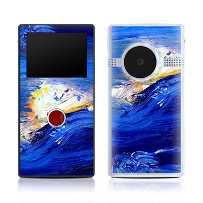 Flip Mino HD 120 Skin - Feeling Blue