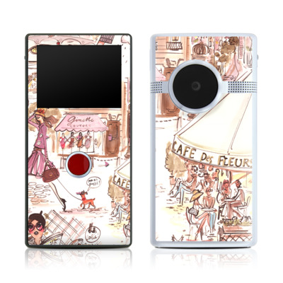 Flip Mino HD 120 Skin - Paris Makes Me Happy