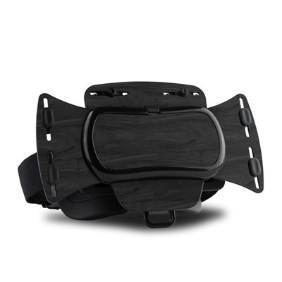 Freefly VR Headset Skin - Black Woodgrain