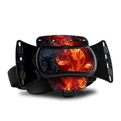 Freefly VR Headset Skin - Flower Of Fire