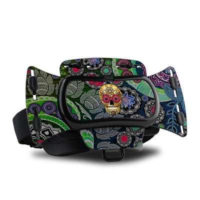 Freefly VR Headset Skin - Sugar Skull Paisley