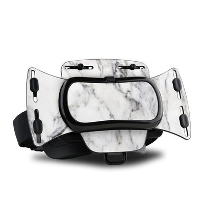 Freefly VR Headset Skin - White Marble