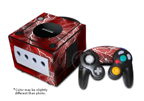 GameCube Skin - Apocalypse (Red)