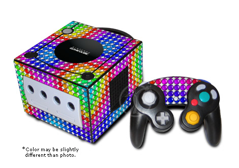 GameCube Skin - Rainbow Candy