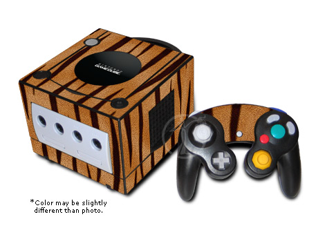GameCube Skin - Tiger Stripes