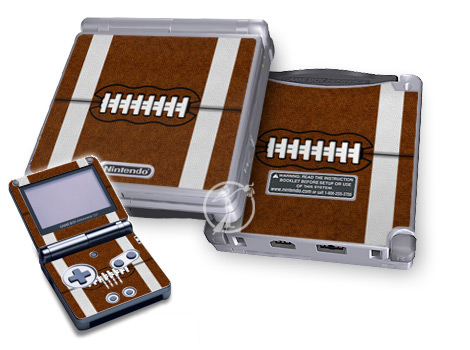 Gameboy SP Skin - Football
