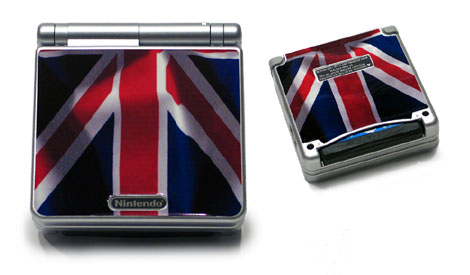 Gameboy SP Skin - UK Flag