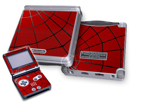 Gameboy SP Skin - Webslinger