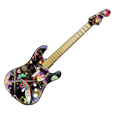 Guitar Hero Fender Skin - Wonderland