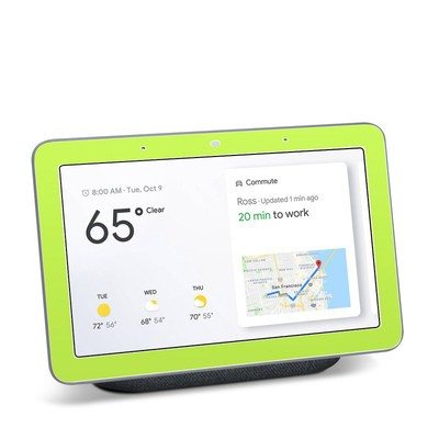 Google Home Hub Skin - Solid State Lime