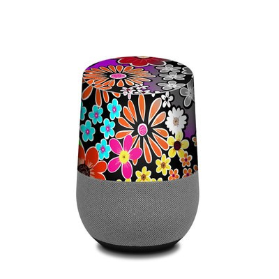 Google Home Skin - A Burst of Color