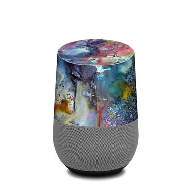 Google Home Skin - Cosmic Flower