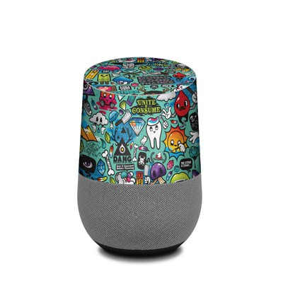 Google Home Skin - Jewel Thief