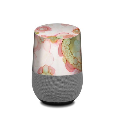 Google Home Skin - Organic In Pink