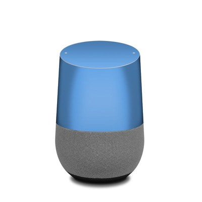 Google Home Skin - Solid State Blue