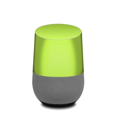 Google Home Skin - Solid State Lime