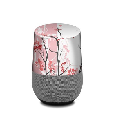 Google Home Skin - Pink Tranquility