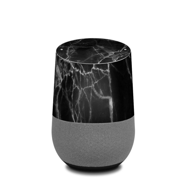 Google Home Skin Black Marble By Marble Collection Decalgirl