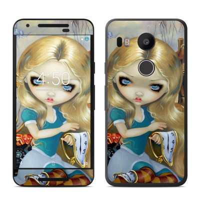 Google Nexus 5X Skin - Alice in a Dali Dream