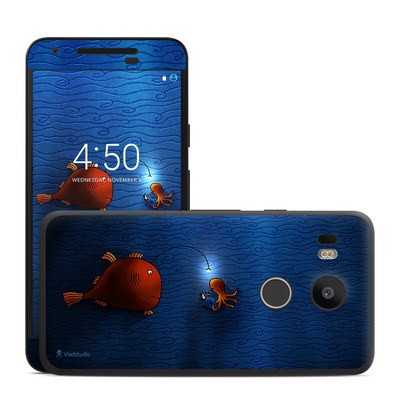 Google Nexus 5X Skin - Angler Fish