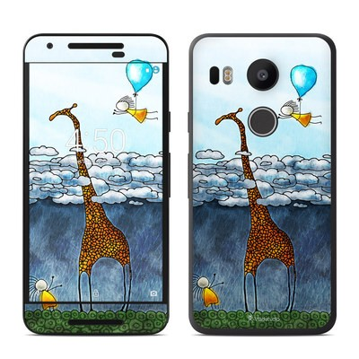 Google Nexus 5X Skin - Above The Clouds