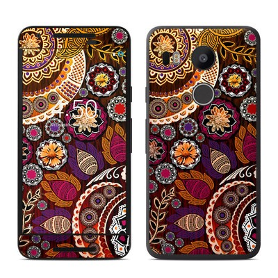 Google Nexus 5X Skin - Autumn Mehndi