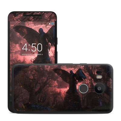 Google Nexus 5X Skin - Black Angel