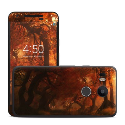 Google Nexus 5X Skin - Canopy Creek Autumn