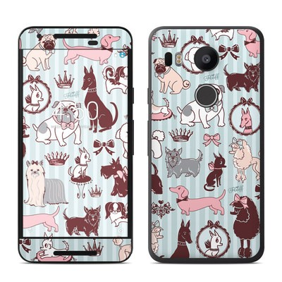 Google Nexus 5X Skin - Doggy Boudoir