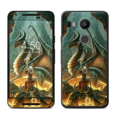 Google Nexus 5X Skin - Dragon Mage